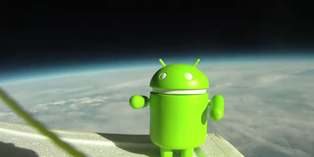 Blog: Google Nexus S launched into space!