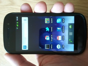 Google Nexus S Design and Display Review