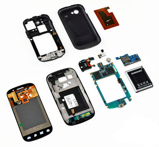 Blog: Google Nexus S disassembly